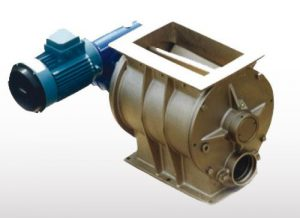 Rotary valve for vacuum system