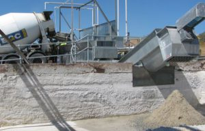 Sand aggregate and water reclaimation