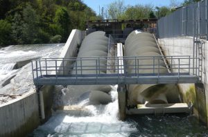 Roncuzzi hydro energy archimedean screw