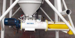 Cement silo mixer