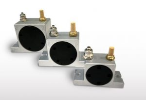 Turbine type quiet pneumatic vibrator