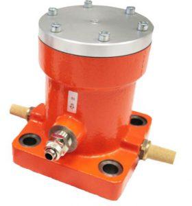Impact pneumatic vibrator