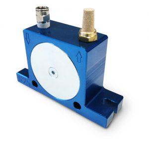 Ball type pneumatic vibrator