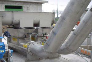 Speco dewatering screw compactor