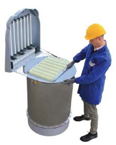Silotop dust collector