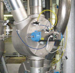 Drum type diverter valve