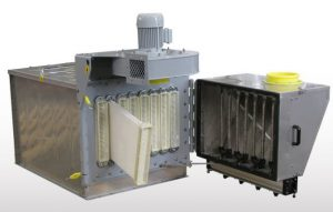 Wamair polygonal dust collector
