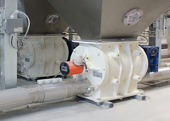Lean phase blower conveying