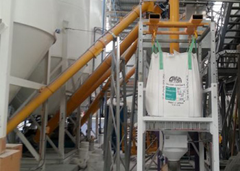 Conveying powders and granules