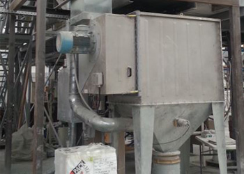Dust control and industrial air filtration