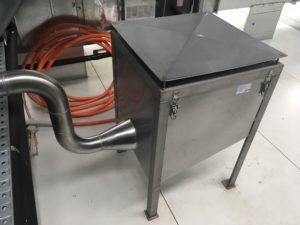 Hepa Filter to pipework