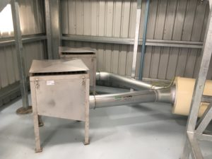 Hepa air intake for vacuum system