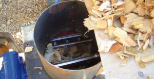 wood chip rotary feeder