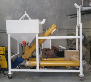 Mobile Bulk Bag Splitter and Unloader