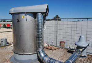Silo Membrane Pressure Relief Valves