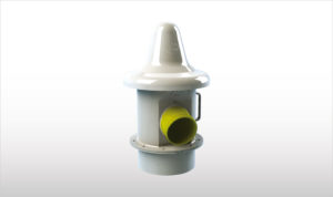 Duct to ground pressure relief valve