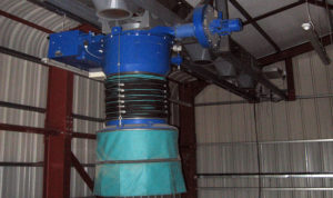 ZC Loading Chute with Integrated Dust Collector for Open Trucks