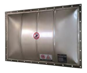 Vigilex VD-HV Strong Domed Explosion Protection Panels