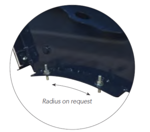 Vigilex VQ-R Curved Flameless Explosion Venting Panel