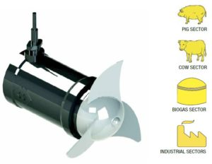 Tank or Pit Submersible Agitators and Mixers WSA