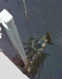 Pit Submersible Agitators and Mixers Sepcom WSA