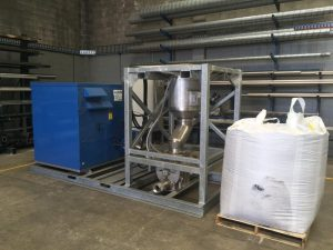 Mobile Pneumatic Product Conveying Systems