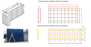 Precast Concrete Vibration Design Layout
