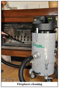 Fireplace Industrial Vacuum Cleaning System RGS