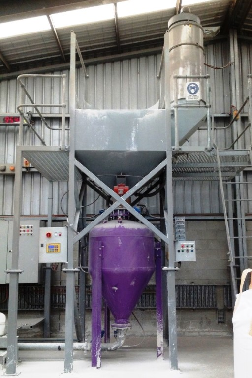 Cement Dense Phase Conveying System
