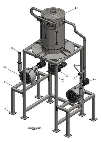 Centralised Industrial Vacuum System