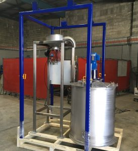 Lime Unloading and Dosing System