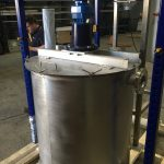 Lime Mixing Tank Stainless Steel