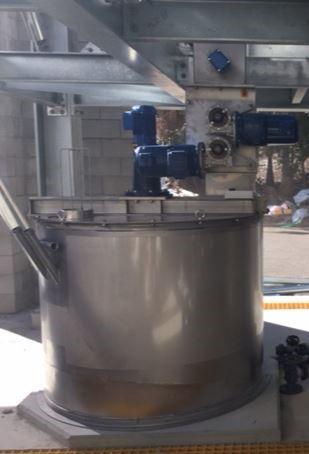 Lime Dosing Mixing Tanks