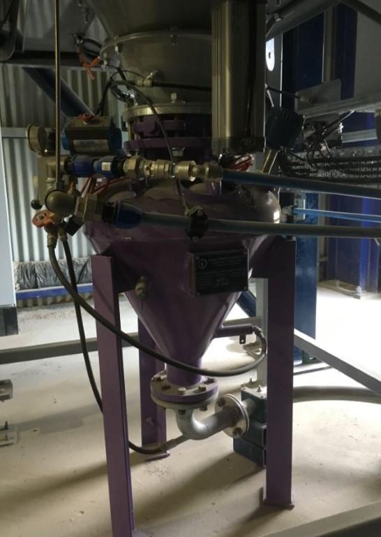 Manganese Oxide Conveying