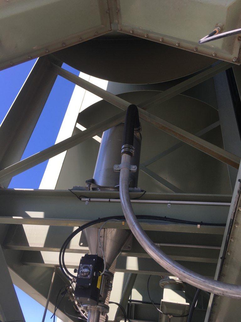 Salt Dense Phase Conveyor