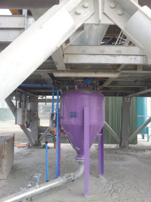 Stone Dust Dense Phase Conveyor