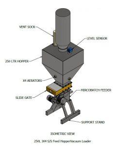 Powder vacuum loader