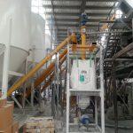 Calcium Carbonate and Sand Screw Conveyors