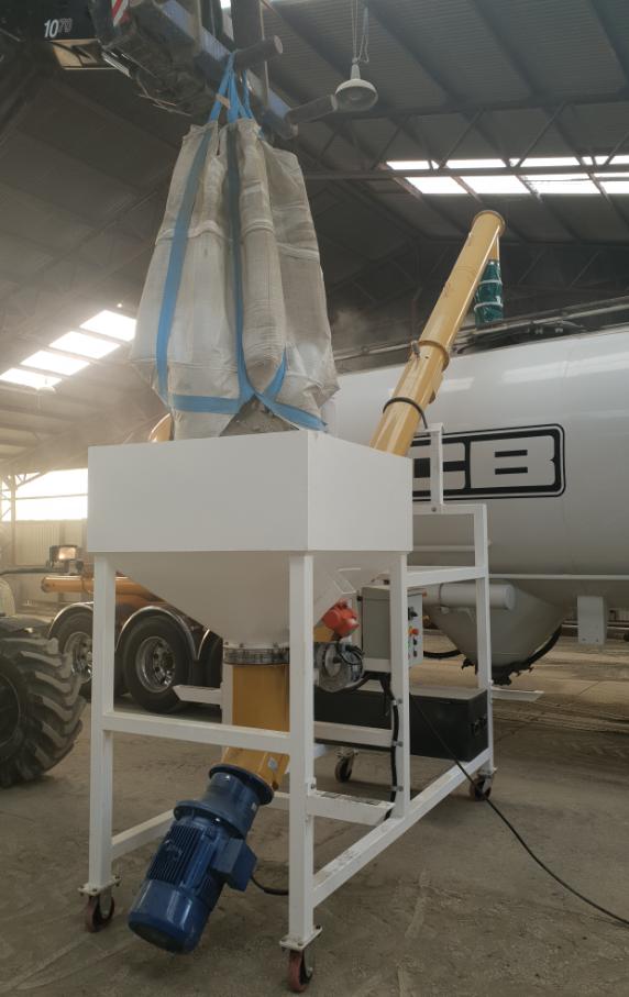 Cement Bulk Bag Unloaders - Mobile