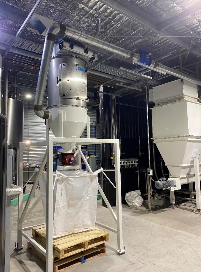 Hazardous Area IECEX Brewery Grain Dust Extraction