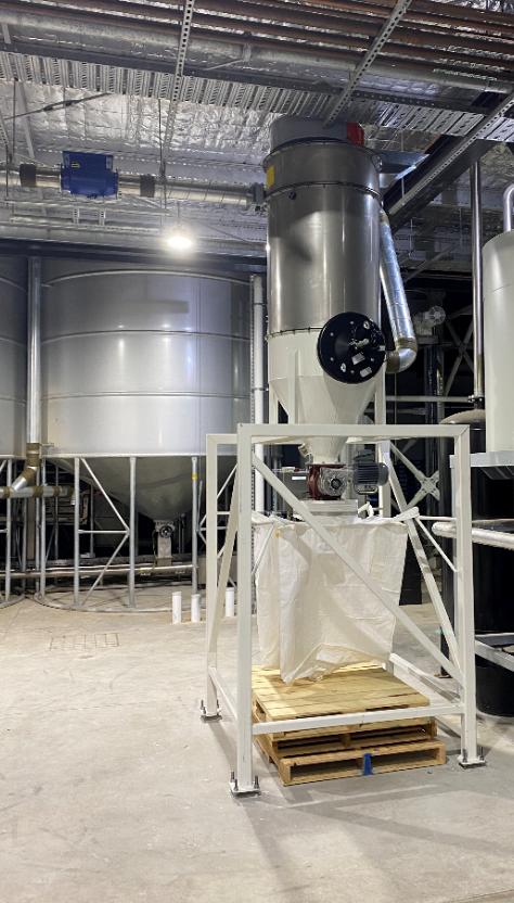 Hazardous Area IECEX Brewery Grain Dust Extractor