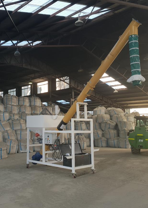 Mobile Cement Bulk Bag Unloaders
