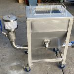 Pet Food Mobile Vacuum Loader Ground Hopper