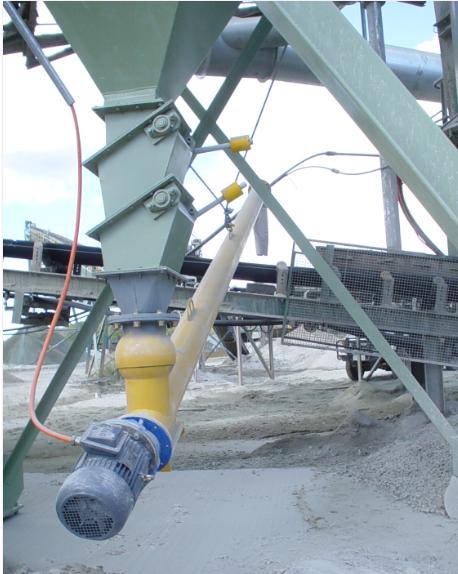 Quarry Stone Dust Screw Conveyors