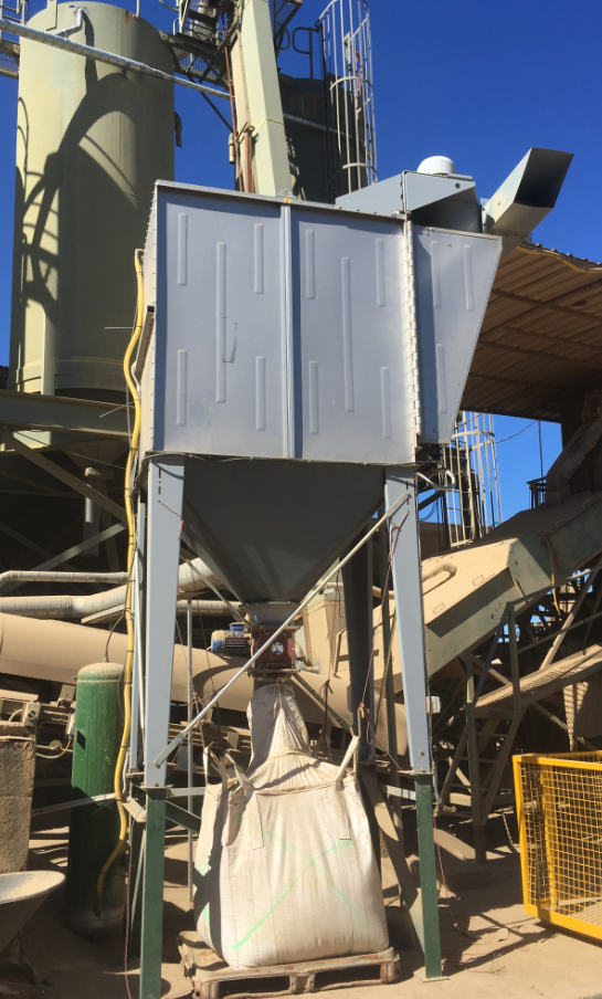 Sand Silica Dust Extractor