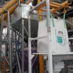 Sand and Calcium Carbonate Screw Conveyors