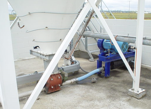 Starch Pneumatic Conveying System