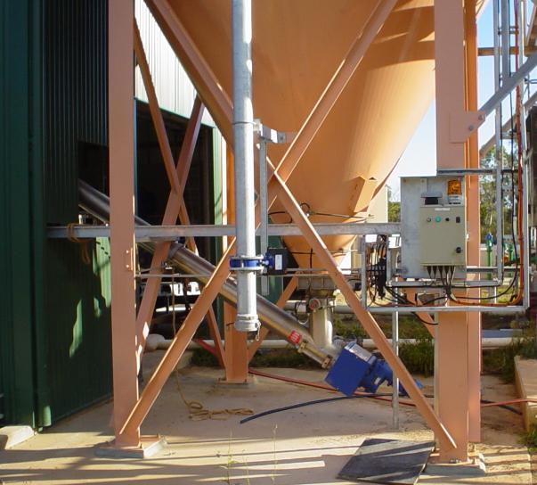 Zeolite Stainless Steel Screw Conveyor