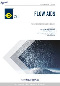 New Oli Flow Aids Catalogue