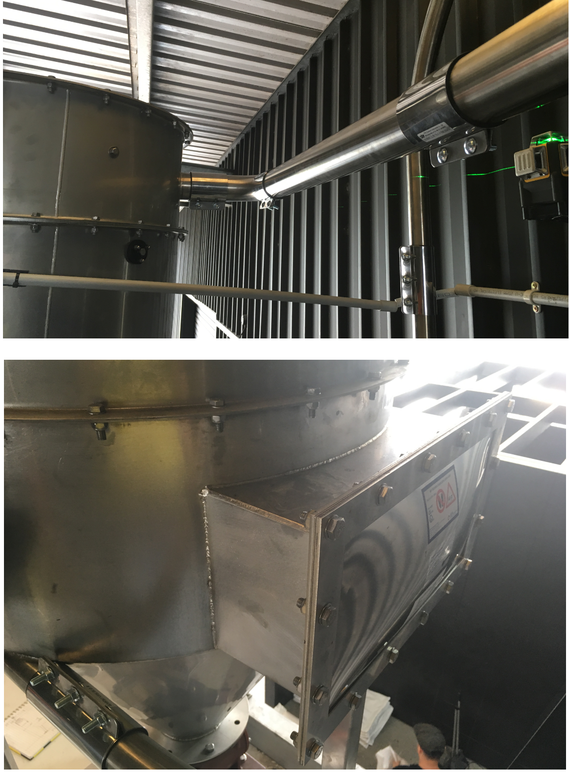 Hazardous Area IECEX Brewery Grain Vacuum Conveying System